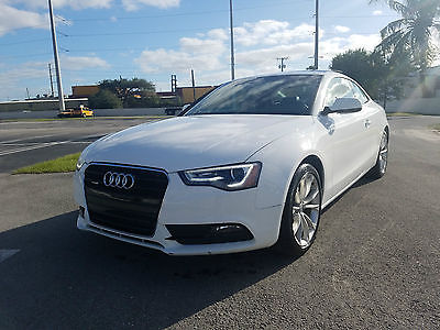 2013 Audi A5 A5 2013 AUDI A5 COUPE DRIVES GREAT LOW MILES MAKE AN OFFER BEST OFFER AWD QUATTRO
