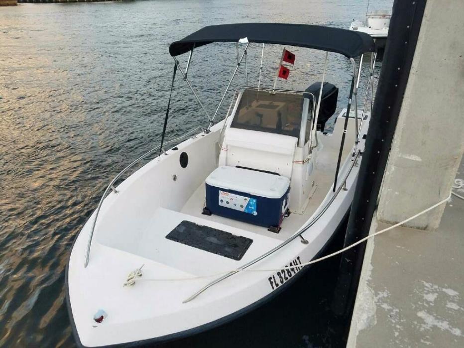 19' Pro-line Center Console Open Fisherman Boat Proline Fishing 150hp 40+ mph