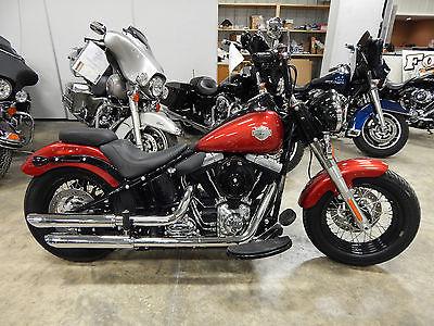 Harley Davidson Fls Slim Red