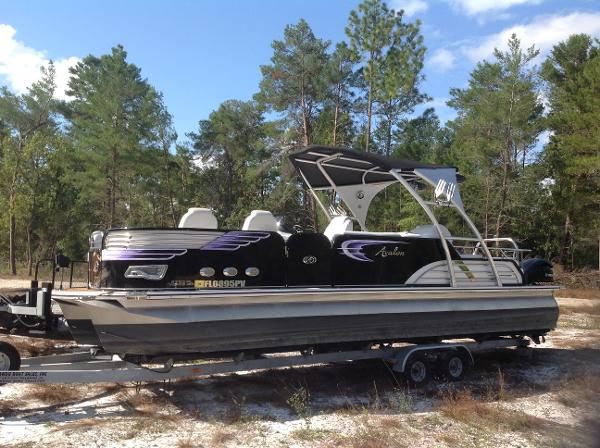 Avalon Tritoon Boats For Sale