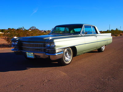 1963 Cadillac DeVille Coupe 2 Door Beautiful Classic Cadillac. Factory Air. Power Seats. Nevada Collector Car.
