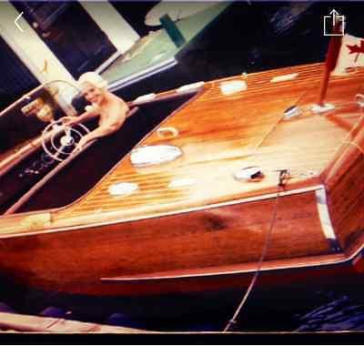 1959 18 foot Chris Craft Riviera w/ Trailer