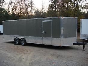 8.5 X 24' Enclosed Cargo Trailer -LARK Car Hauler