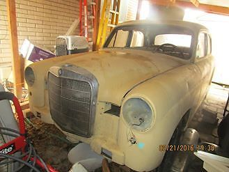 1960 Mercedes-Benz 190-Series 1960 Mercedes Benz 190D Ponton barn fresh 20 yrs over $6,000 in parts UTAH