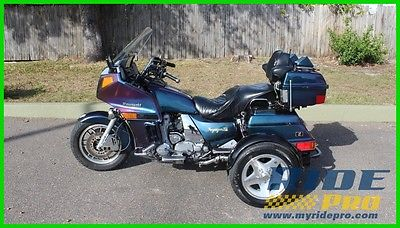 Kawasaki Other Voyager XII TOPACK TRIKE KIT 1990 Kawasaki Voyager XII TOPAC TRIKE KIT MOTORCYCLE REMOVABLE TOURING CRUISER