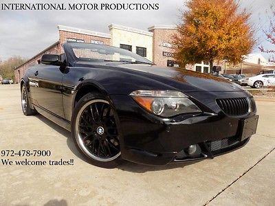 2006 BMW 650Ci Triple Black 2006 BMW 650Ci Triple Black Coupe Jet Black 4.8L DOHC 32-Valve V8 Engine Automat