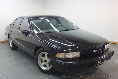 1994 Chevrolet Impala 4dr Sedan LOWEST PRODUCED RARE 1994 CHEVY IMPALA SS CLEAN LT1 LTHR DRL CLN CARFAX