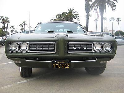 1968 Pontiac GTO 1968 Pontiac GTO SOUTHERN CALIFORNIA