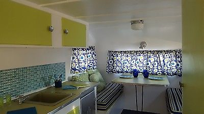 1959 Fan Vintage Camper *Fully Renovated* Tiny House Glamper Ready to Camp!