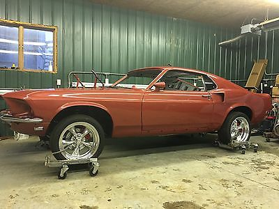 1969 Ford Mustang 1969 Ford Mustang Fastback Q-code, 428 Cobra Jet