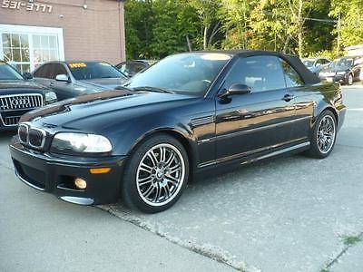 2002 BMW M3 Convertible -- 2002 BMW M3 Convertible