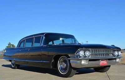 1962 Cadillac Fleetwood 75 Series Limousine 1962 Fleetwood 75 Series Limousine 43,000 ORIGINAL MILES ORIGINAL CAR!
