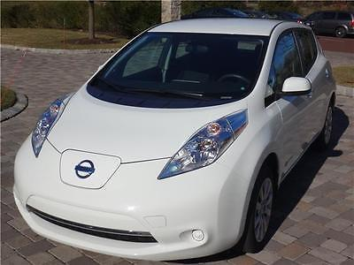 2015 Nissan Other Pickups Quick Charge Cold Weather Pckg Rear View Cam 2015 Nissan Leaf S Quick Charge Cold Weather Package Rear View Camera