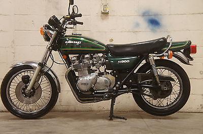 1976 Kawasaki Kz900 Kz 900 Original Z1 Original Paint Air