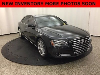 2013 Audi A8 Premium Sedan 4-Door $87k MSRP Pano Roof 1 owner Certified Pre owned