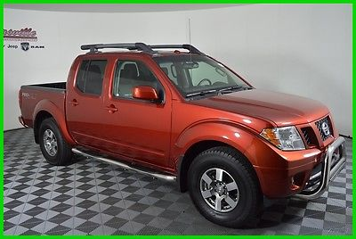 2012 Nissan Frontier PRO-4X 4WD V6 Crew Cab Truck Sunroof Leather Seats 40k Miles 2012 Nissan Frontier 4WD Crew Cab Truck Heated Seats AUX Bluetooth
