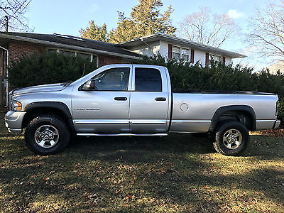 2005 Dodge Ram 2500 Laramie Crew Cab Pickup 4-Door 2005 Dodge Ram 2500 Laramie Crew Cab Pickup 4-Door 5.9L