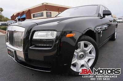 2012 Rolls-Royce Ghost 12 Ghost Sedan Clean CarFax HIGHLY OPTIONED 2012 Black Rolls Royce Ghost Sedan Clean CarFax like 2010 2011 2013 2014 Phantom