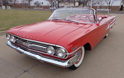 1960 Chevrolet Impala -- 1960 CHEVROLET IMPALA 348 Tri Power Convertible STUNNING FROM PRIVATE COLLECTION