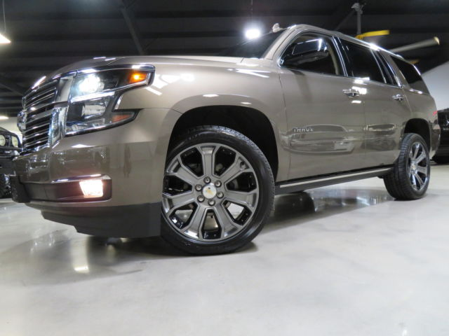 2016 Chevrolet Tahoe LTZ 1700 Miles 1-OWNER CARFAX (ALL OPTIONS) TX  16 Tahoe LTZ 1700 Miles Nav Camera Sunroof TV DVD HUD BOSE 22s Sunroof Carfax TX