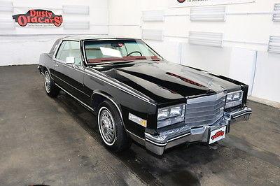 1985 Cadillac Eldorado Runs Drives Body Inter Excel 4.1L V8 4 spd auto 1985 Black Runs Drives Body Inter Excel 4.1L V8 4 spd auto!