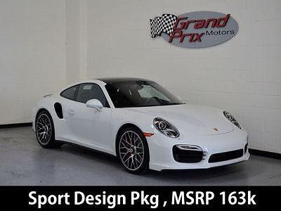 2014 Porsche 911 2014 Porsche 911 Turbo Coupe 2D MSRP $164K Warranty Pano Roof Turbo S Wheels