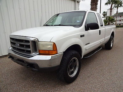 2001 Ford F-250 XLT 2001 Ford Super Duty F-250 XLT Super Crew 4X4 7.3L Turbo Diesel Engine