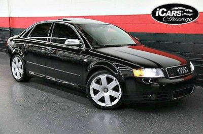 2004 Audi S4 Base Sedan 4-Door 2004 Audi S4 2-Owner $52,245 MSRP Navigation Premium Pkg Premium Sound Xenons!!