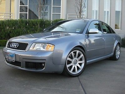 2003 Audi RS6 Sedan 4-Door Low Miles 4.2L Twin Turbo Loaded!!!