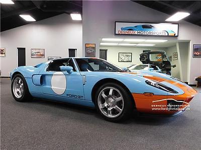2006 Ford Ford GT -- 2006 Ford GT  1,800 Miles Heritage Blue 2dr Car 8 Cylinder Engine 5.4L/330 6-Spe