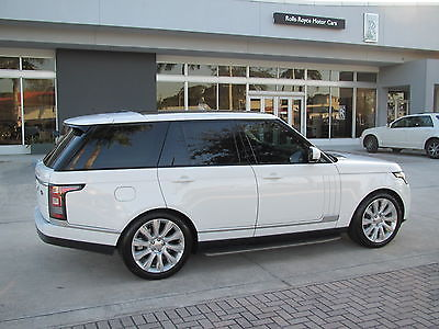 2014 Land Rover Range Rover Supercharged Sport Utility 4-Door 2014 14 RANGE ROVER SUPERCHARGED V8 FULL SIZE * ONLY 16K MILES * CLIMATE COMFORT