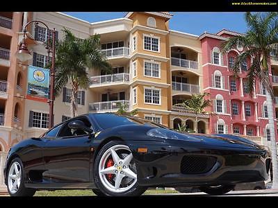 2002 Ferrari 360  2002 Ferrari 360 348 355 430 550 575 458 612 599 F1 stick manual 6 speed