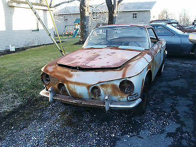 1964 Volkswagen Karmann Ghia coupe 1964 VW Karmann Ghia type 34 Restoration Project
