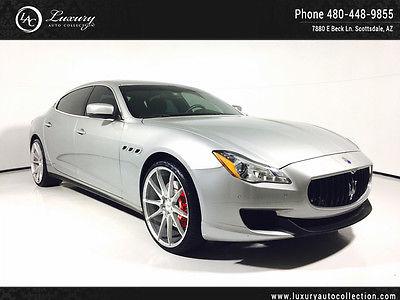 2014 Maserati Quattroporte S Q4 Sedan 4-Door 22 Custom Wheels Only 3K Miles Save $$$$  15 16