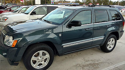 2007 Jeep Grand Cherokee Limited 2007 Jeep Grand Cherokee Limited CRD Turbodiesel 4X4 Clean Carfax Nav Very Nice!