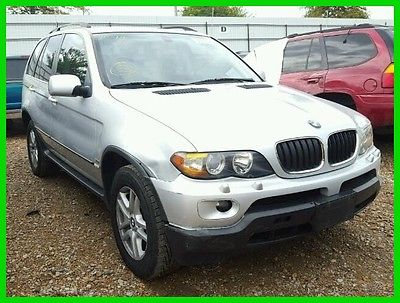 2006 BMW X5 3.0i 2006 BMW X5 3.0i Minor Damage Great Repairable Salvage Title