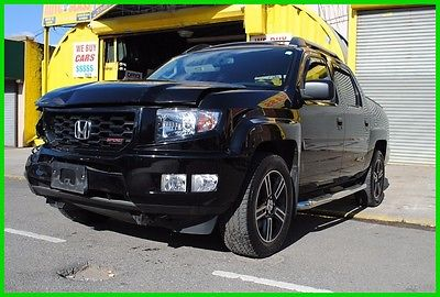 2014 Honda Ridgeline Sport 4WD 4x4 Low Miles Repairable Rebuildable Salvage Wrecked Runs Drives EZ Project Needs Fix Save Big