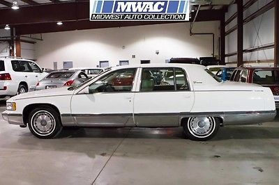 1996 Cadillac Fleetwood LAST YEAR~BEST COLOR~LT1~BROUGHAM~1 OWNR~