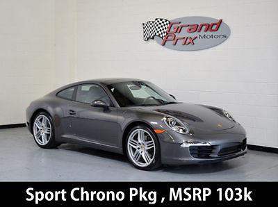 2013 Porsche 911 2013 Porsche 911 Coupe Low Miles MSRP $103K Sport Chrono Pkg Premium Pkg +
