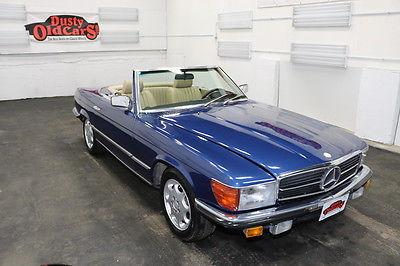 1980 Mercedes-Benz SL-Class Runs Drives Body Int VGood 2.8L I6 4spd auto 1980 Blue Runs Drives Body Int VGood 2.8L I6 4spd auto!