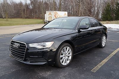 2014 Audi A6 Premium, AWD, New Tires, Only 17k miles 2014 Audi A6 Quattro Premium Sedan 4-Door 2.0L