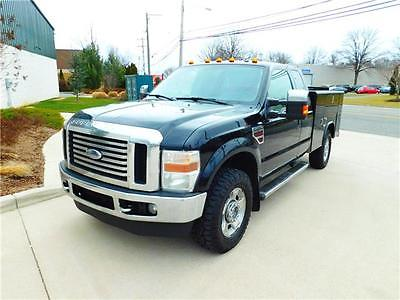 2010 Ford Other Pickups XLT/LARIAT 2010 Ford Super Duty F-250 SERVICE XLT/LARIAT  4x4  Black Extended Cab P