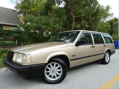 1993 Volvo 900 Turbo w/OptionPkg 2 1993 Volvo 940 Turbo Wagon! Warranty! Heated Seats! Sunroof! Cargo Cover! Stereo