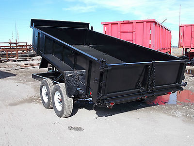 2017 Rhino14 ft, 14,000 lb dump trailer