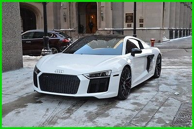 2017 Audi R8 Great Color!  Don't miss out, call me now. 2017 5.2 V10 Used 5.2L V10 40V Automatic AWD Coupe Premium