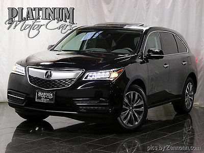 2016 Acura MDX SH-AWD 4dr w/Tech 1 Owner - Clean Carfax - SH-AWD - Tech Pkg - Nav - AcuraWatch -ONLY 800 Miles!!!