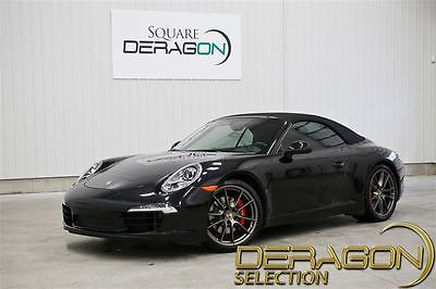 2013 Porsche 911 Carrera S Convertible 2-Door 2013 PORSCHE 911 CARRERA S + MANUAL + SPORT EXHAUST + SPORT CHRONO+ NAV