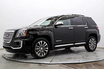 2016 GMC Terrain  Denali AWD 3.6L V6 Nav R Camera Lthr Htd Seats Pwr Sunroof LDW 19in Wheels Save