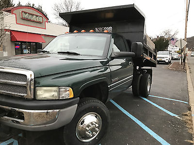 2002 Dodge Ram 3500 SL 2002 DODGE CUMMINS DUMP ONLY 83K! WITH PLOW!