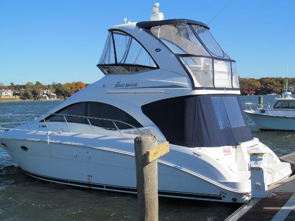 2007 searay Sedan Bridge